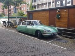 A long walk through Amsterdam means seeing lots of weird old cars