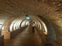 the bizarro hallway en route to the washroom