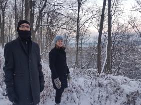 Christmas hiking!