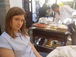 Restaurante San Angel Inn - Yes, that's the dessert cart.