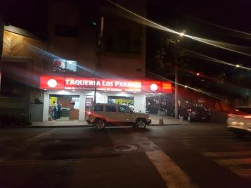 Onto the next: Taqueria Los Parados
