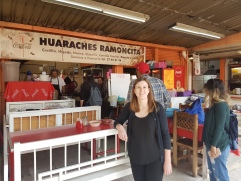Huaraches Ramoncita - our lunch spot!