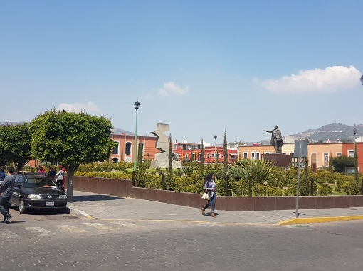 Arriving in Tlaxcala