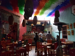 Stopping at a bar for some Pulque!