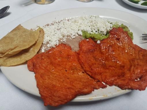 Lunch at Cafe de Tacuba