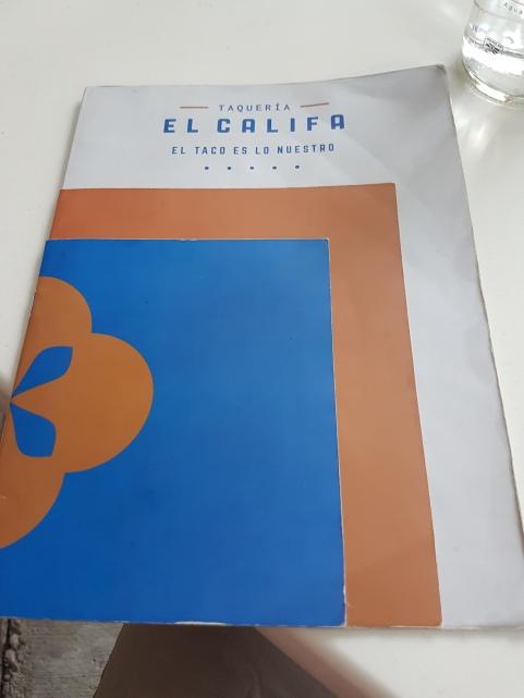 Lunch at El Califa